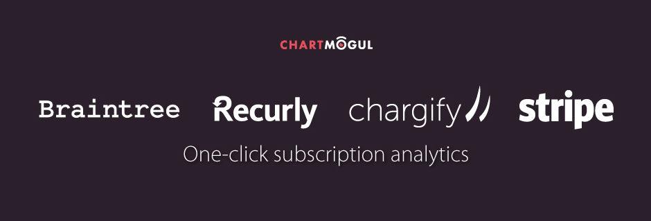 ChartMogul: One click subscription analytics