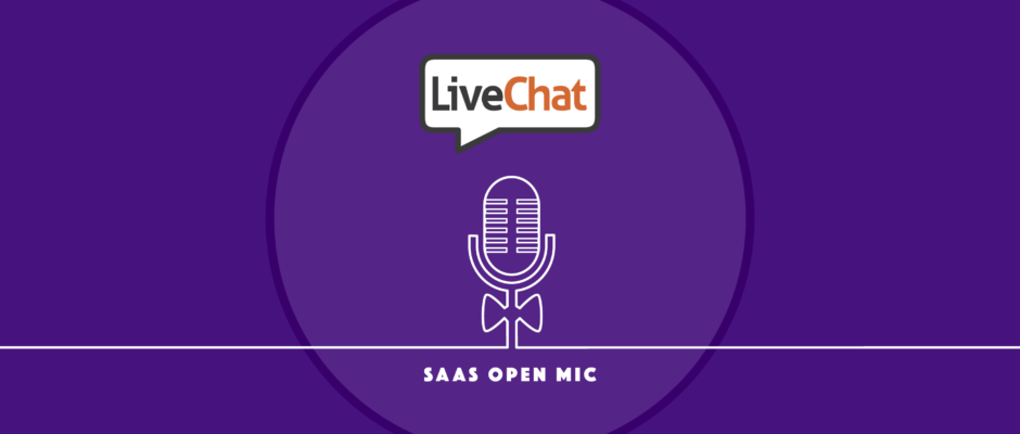 Cover LiveChat CMO on getting to 14K customers with no sales team