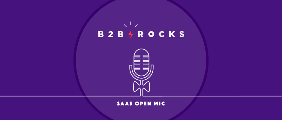 Cover Alex Delivet on single-handedly founding the B2B Rocks conference