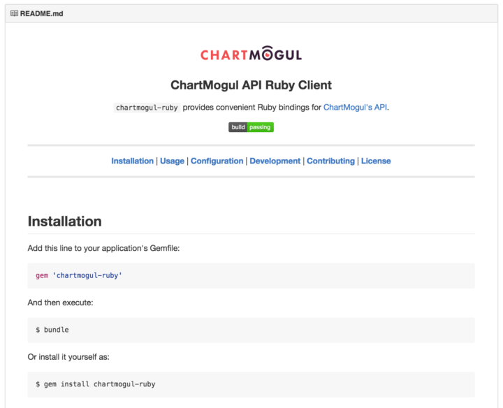 Introducing the ChartMogul Ruby Client