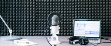 Starting a Podcast header