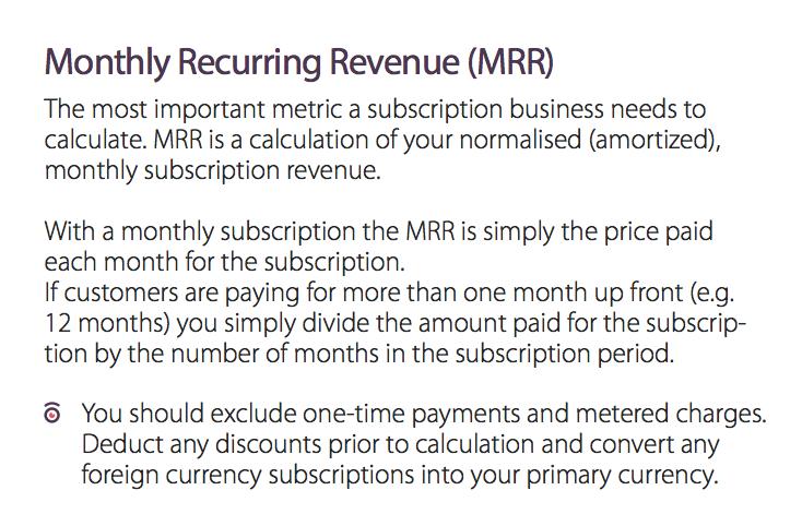ChartMogul MRR