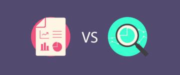 Reporting vs. Analytics ChartMogul
