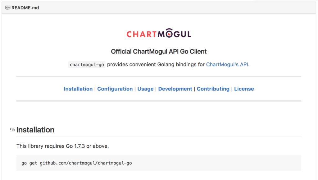 ChartMogul GO Client