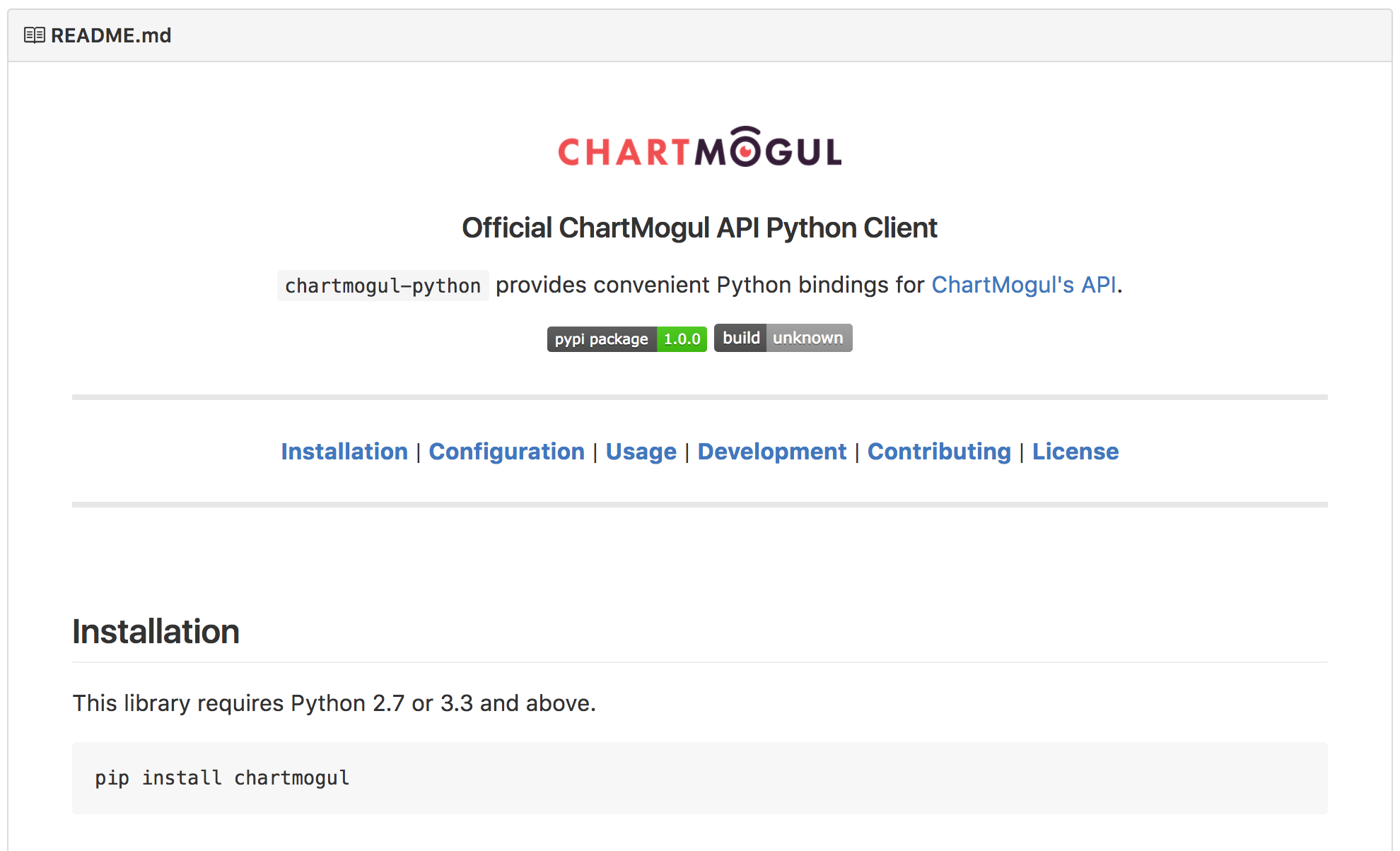 Introducing the ChartMogul Python Client | ChartMogul