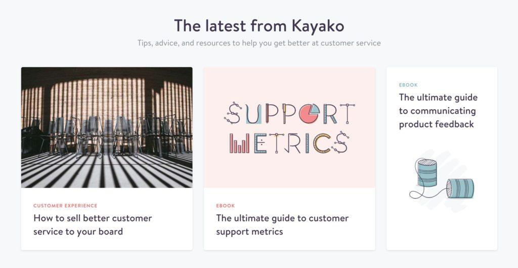 Kayako content