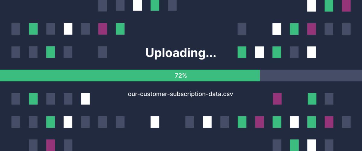 CSV uploader