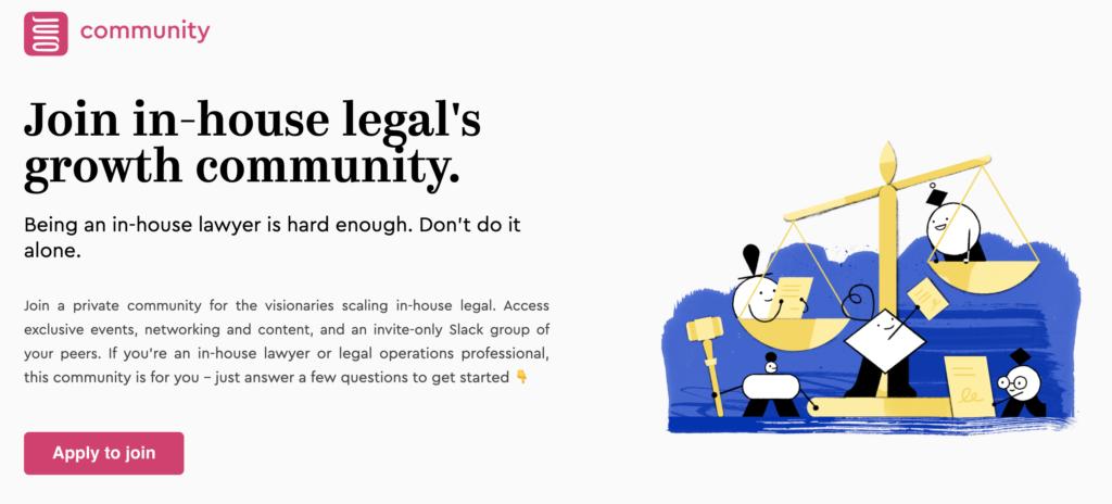 Juro community homepage