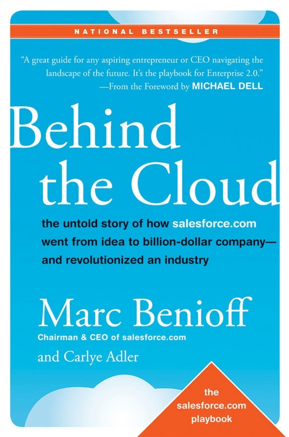 """""""Behind the Cloud"""" by Marc Benioff"""