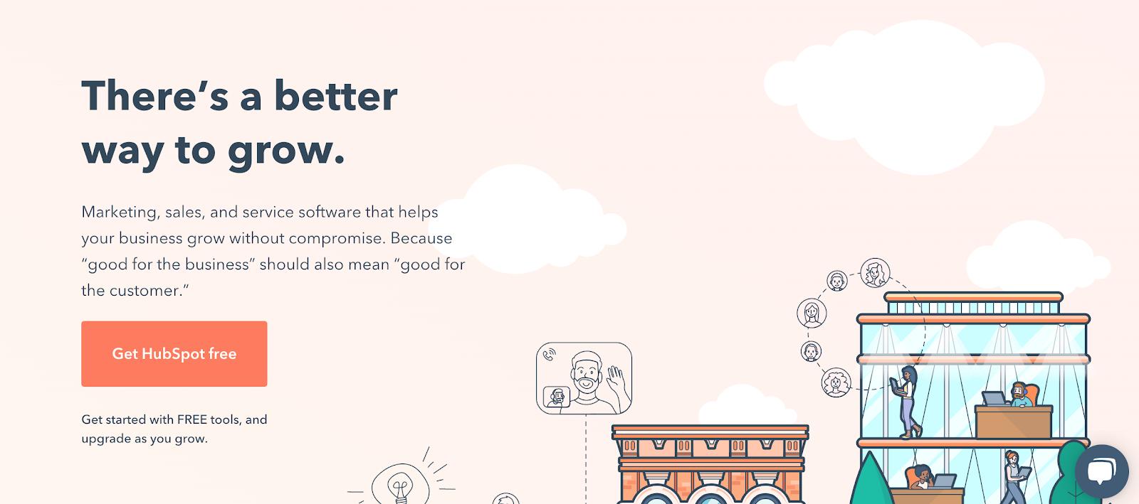 HubSpot: Reducing customer churn starts on the homepage