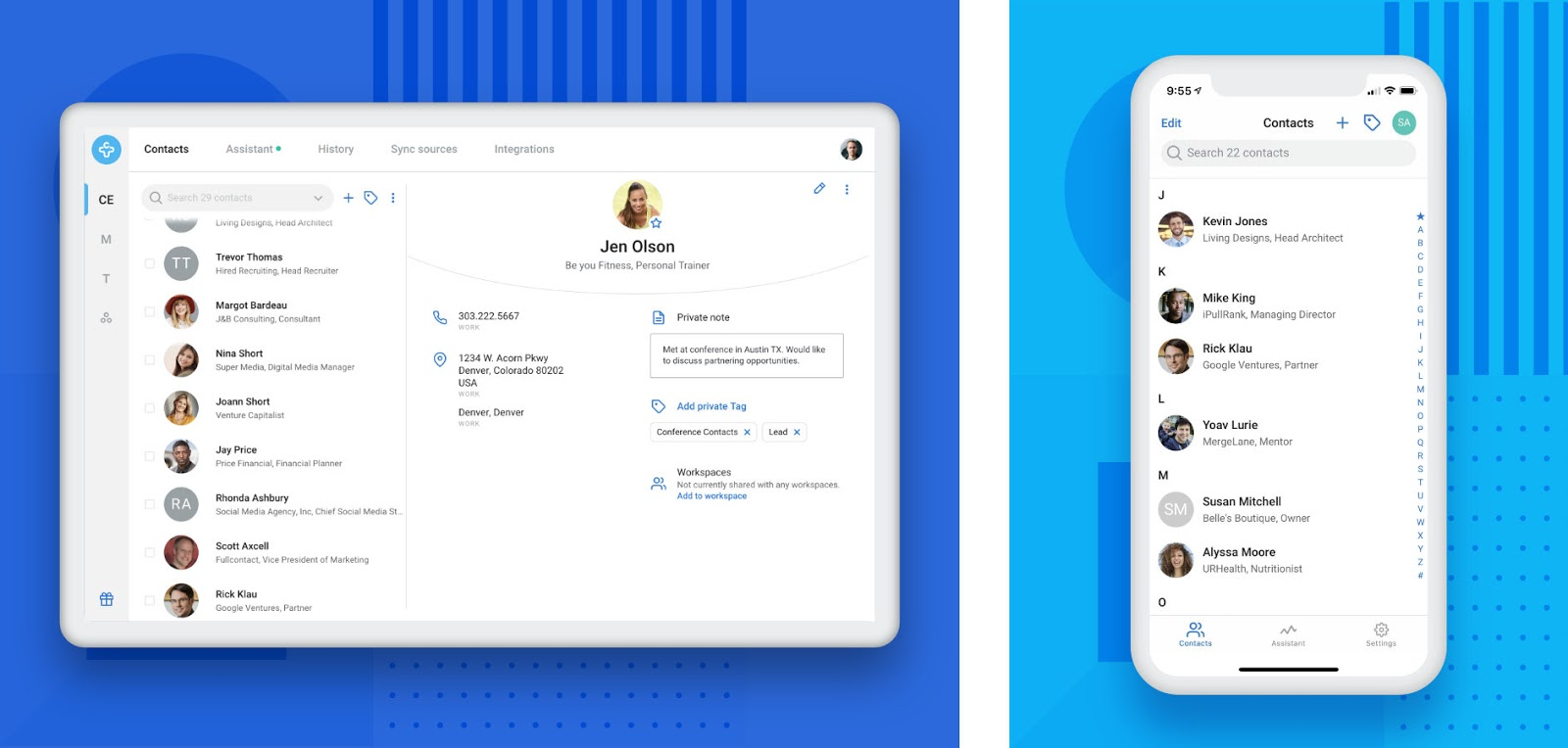 Contacts+ is available on multiple platforms
